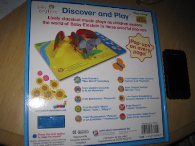 Big Book Baby Einstein Discover N Play  My Baby Stuff