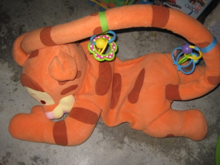 Baby Equipment Fisher Price 3 Steps Tigger Playmat