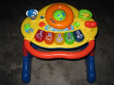 Baby Bath Chair Mothercare Tables And Chairs For Restaurants Vtech Grow N Go Walker Cum Musical Board | My Shop