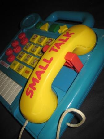 Vtech Small Talk Big Phone Board My Baby