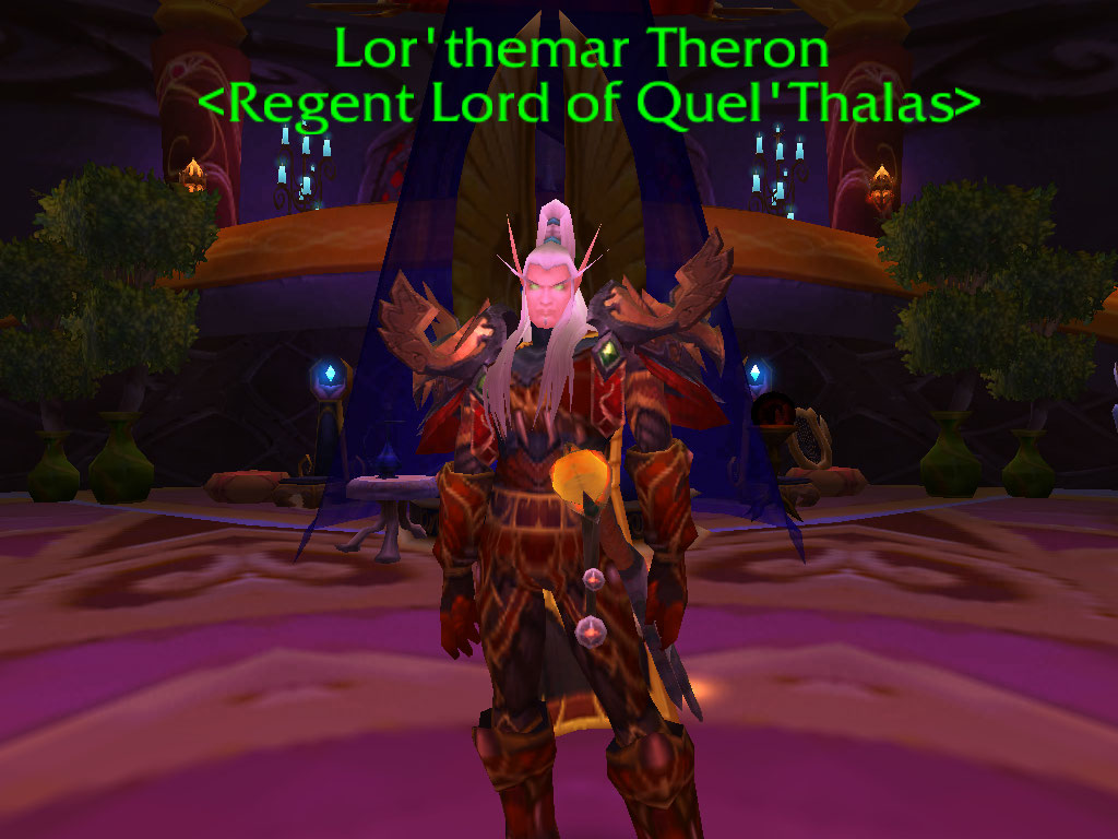 wow lor themar theron - photo #22