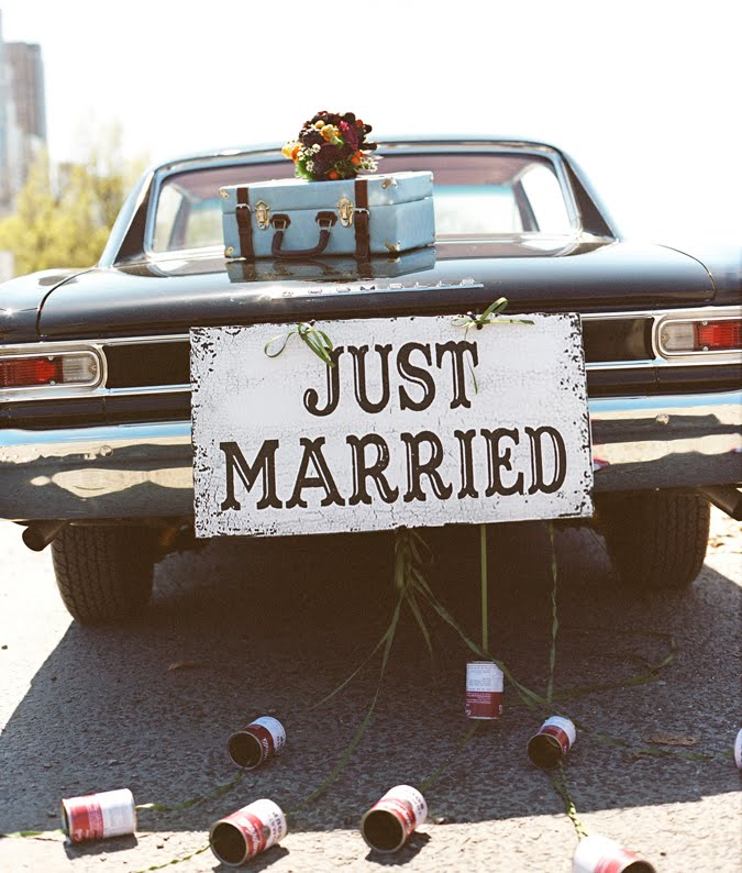 London Raquel Couture: Just Married