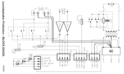 DC Protection / Time Delay for Loudspeaker circuit and