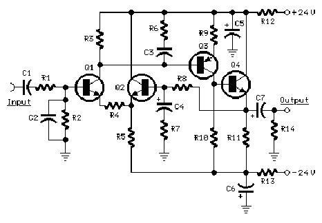 Electronics Circuits: Modular Audio Preamplifier