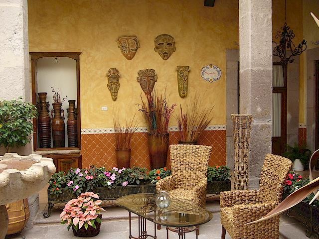 Decoraci n estilo mexicano desde jalisco - Elementos de decoracion ...