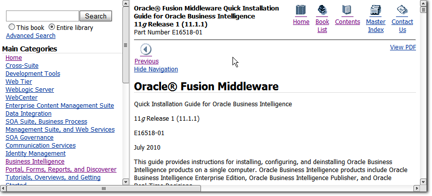 Oracle Bi Administration Tool 11 1 1 5