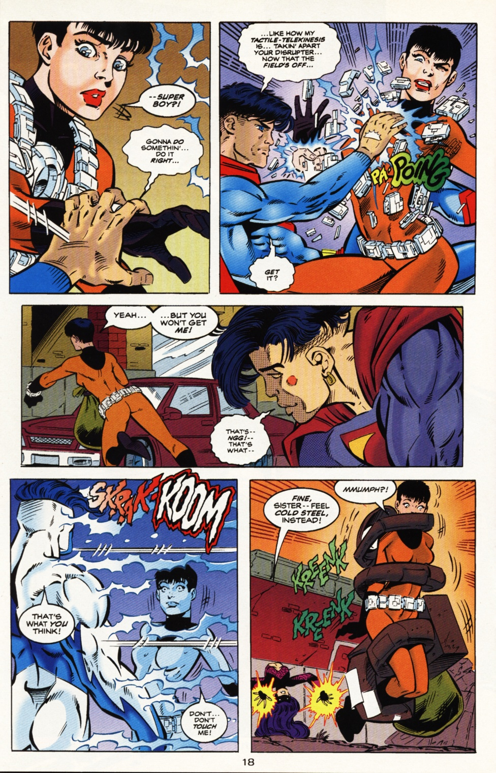 Read online Superboy & The Ravers comic -  Issue #9 - 19