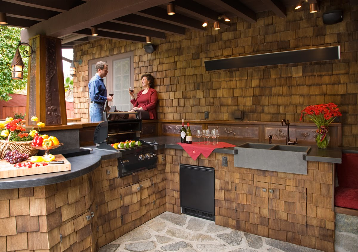 Outside Kitchen Designs Simple Cabinets Design Outdoor Ideas