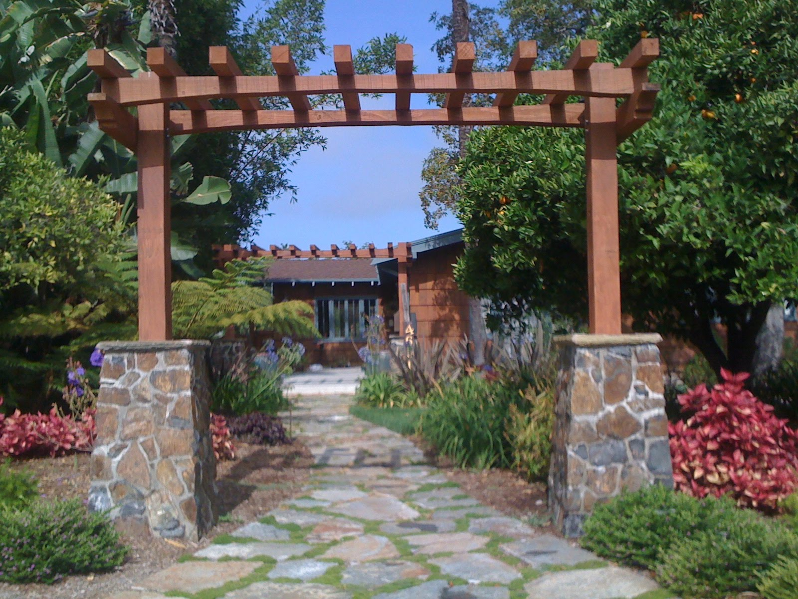 Lawnless front yard examples » Sage Outdoor Designs on Outdoor Front Yard Ideas id=18804