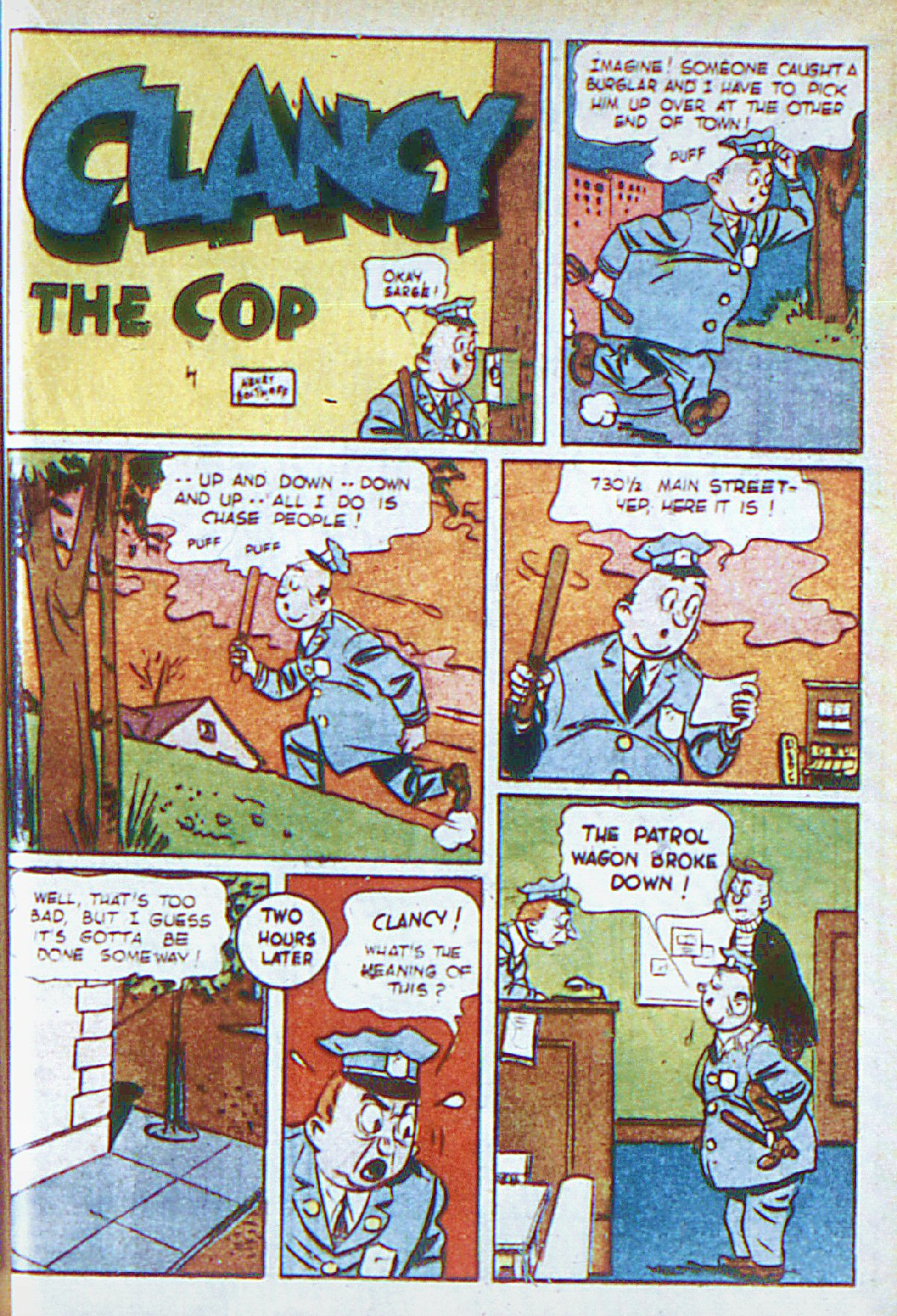 Read online Adventure Comics (1938) comic -  Issue #66 - 40