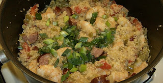 Shrimp and Cous Cous Jambalaya