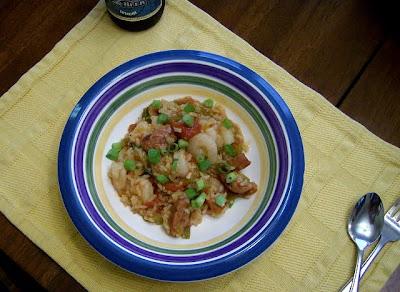 Creole Style Shrimp Jambalaya