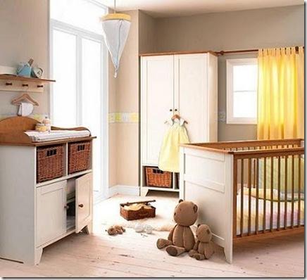 Baby nursery home design