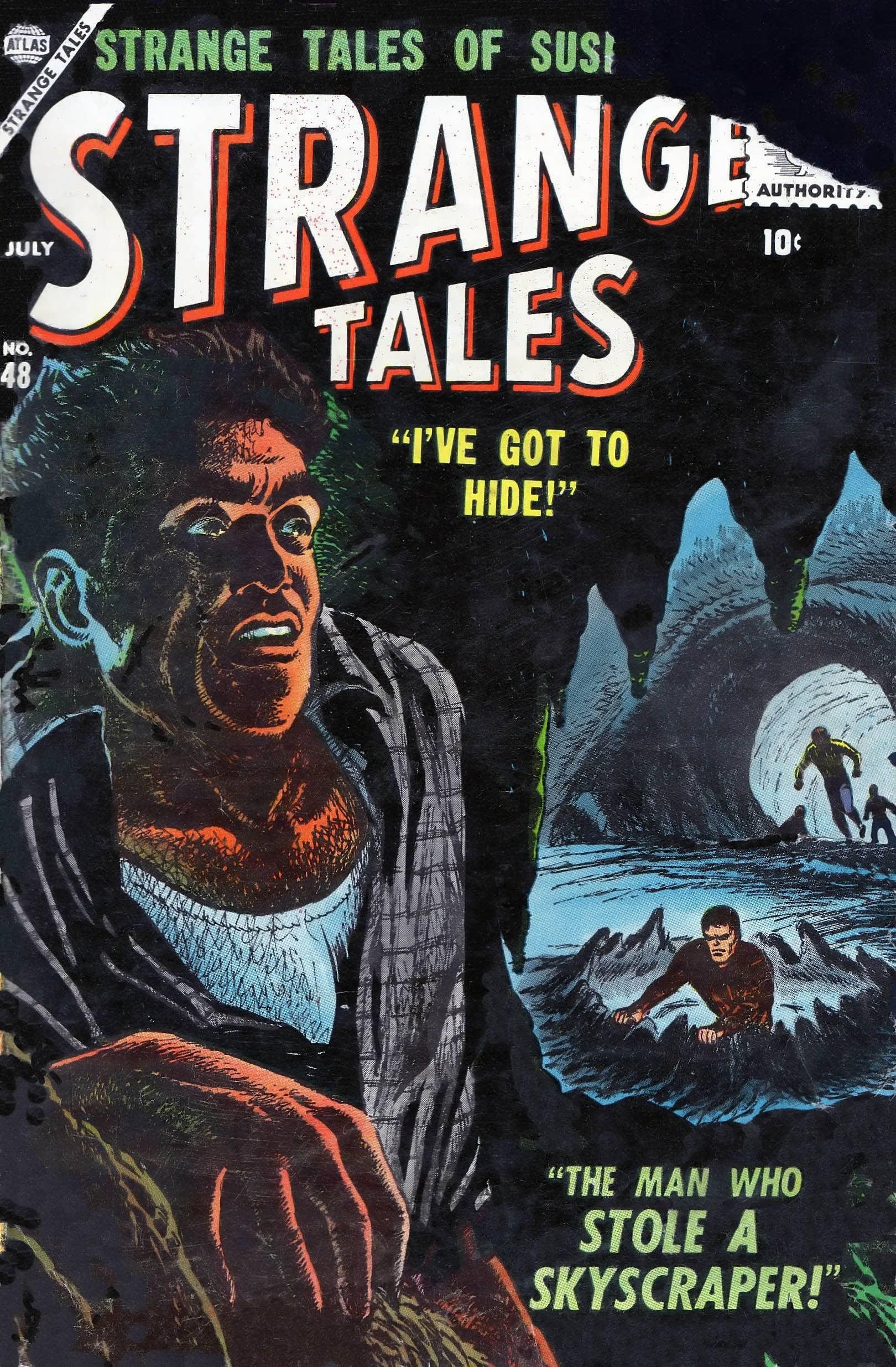 Strange Tales (1951) 48 Page 1