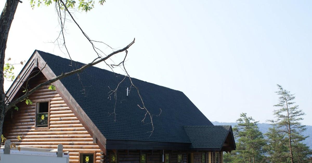 Hidden Bend Retreat Romney West Virginia Roof 95 Shingled
