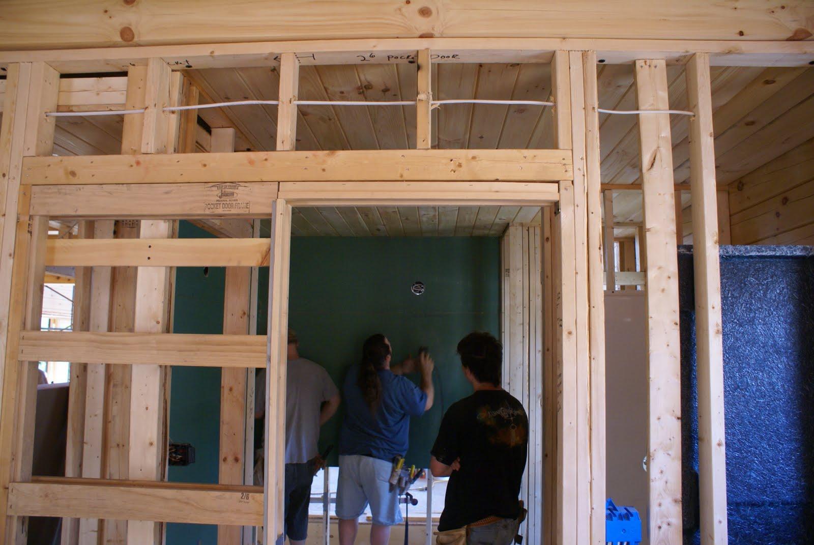 Hidden Bend Retreat Romney West Virginia Drywall Work