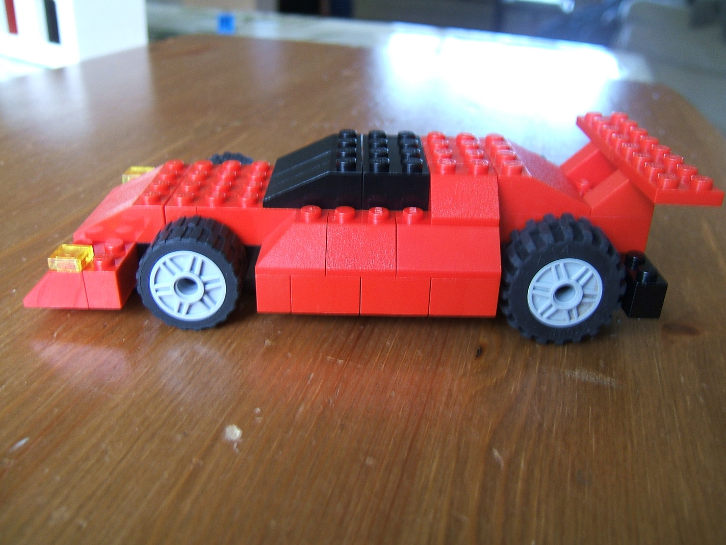 Red Lego Sports Car