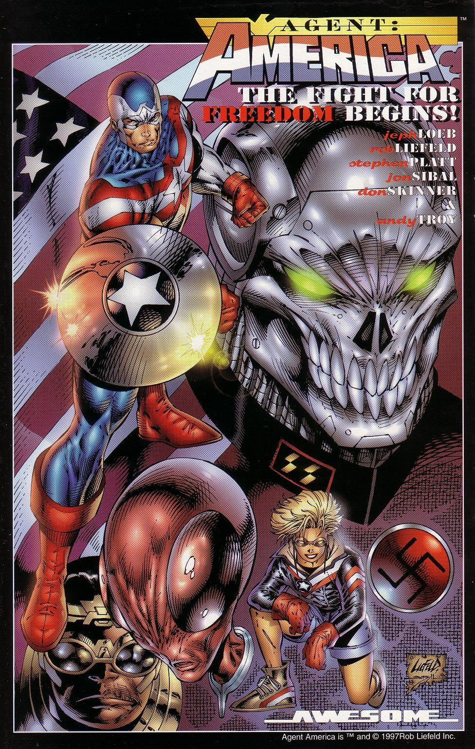 Read online Agent: America comic -  Issue # Full - 4