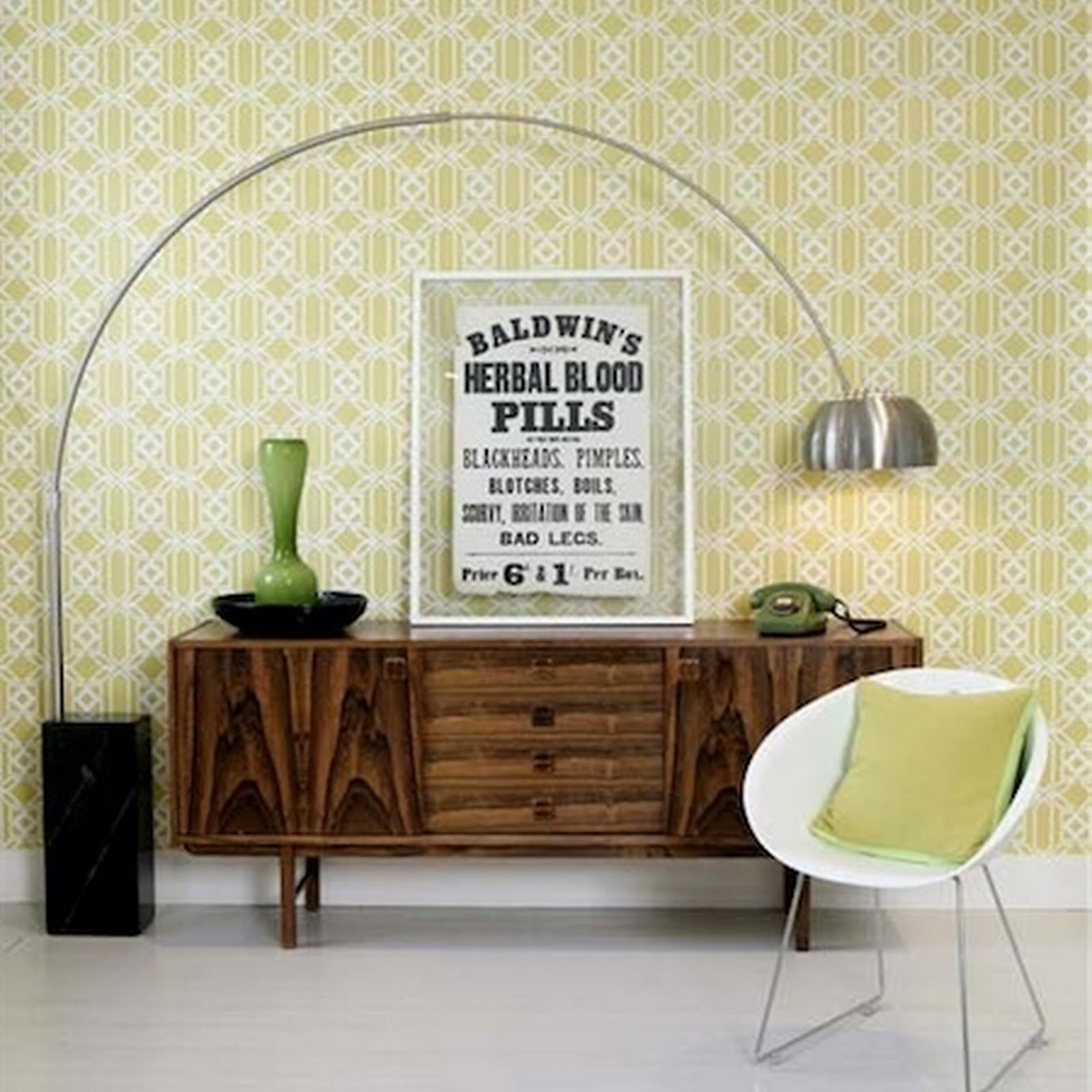 jolijn retro interieur. Black Bedroom Furniture Sets. Home Design Ideas