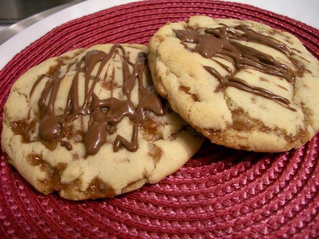 Brooke Bakes Skor Toffee Cookies