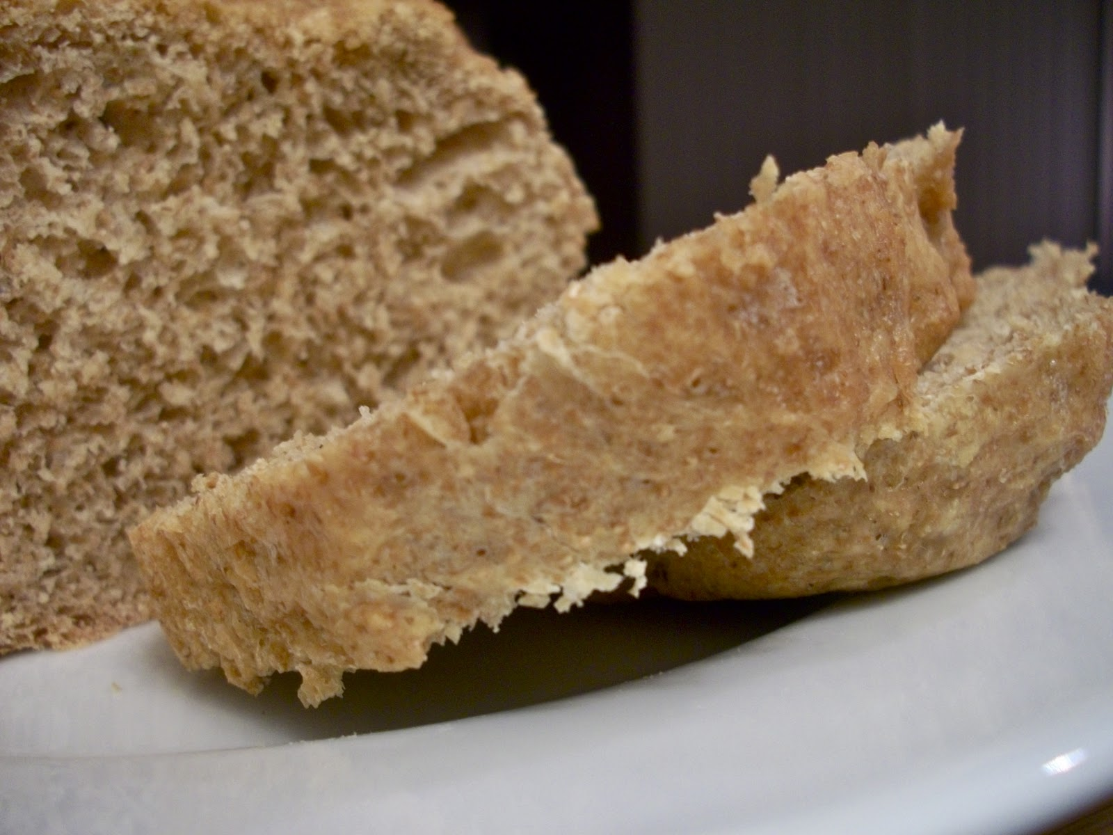 Brooke Bakes 100 Whole Wheat Bread