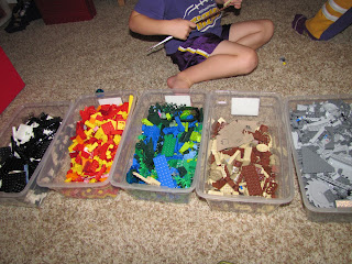 Sustainably Chic Designs Lego Toy Organization