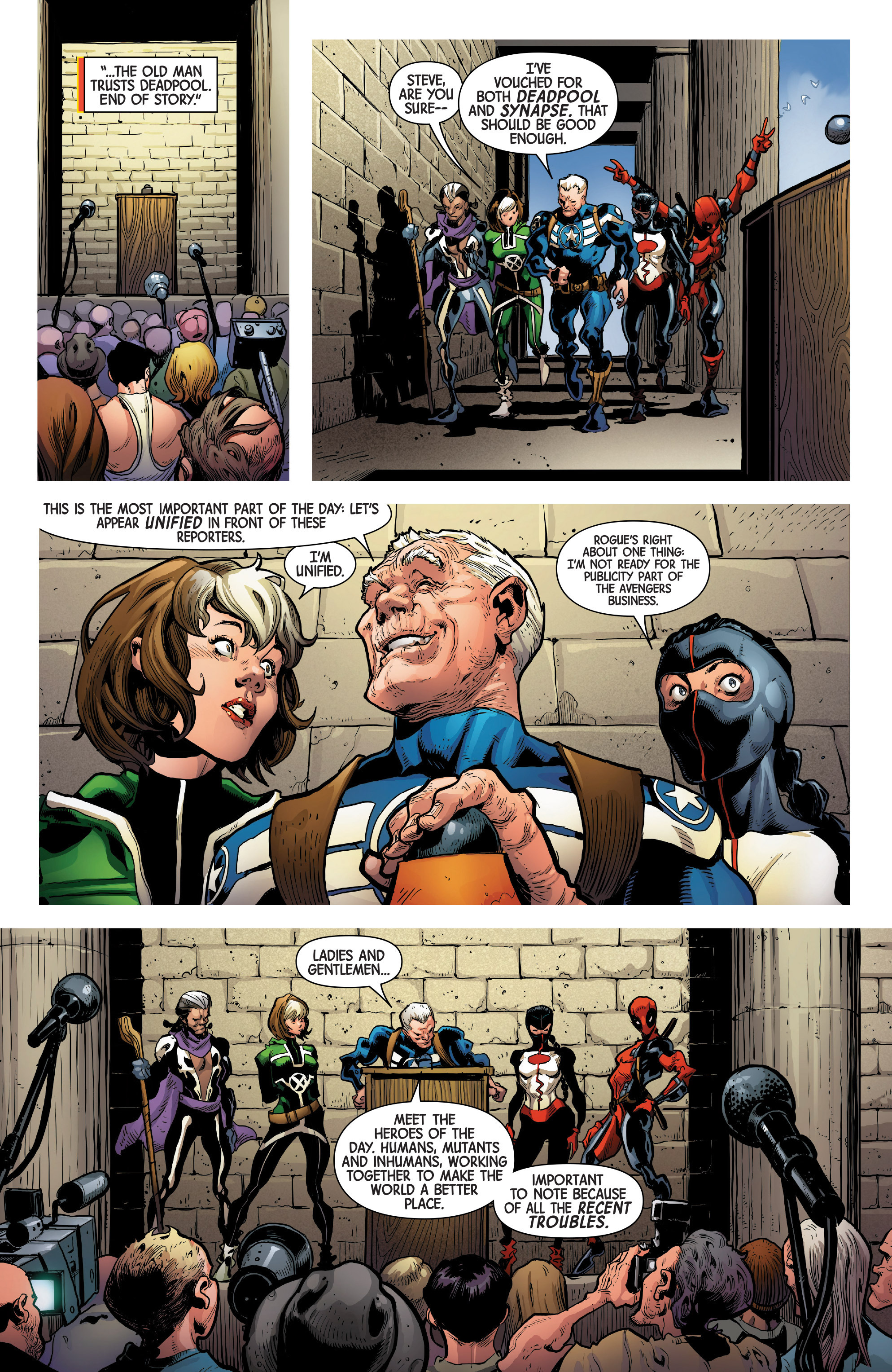 Read online Uncanny Avengers [II] comic -  Issue #1 - 15