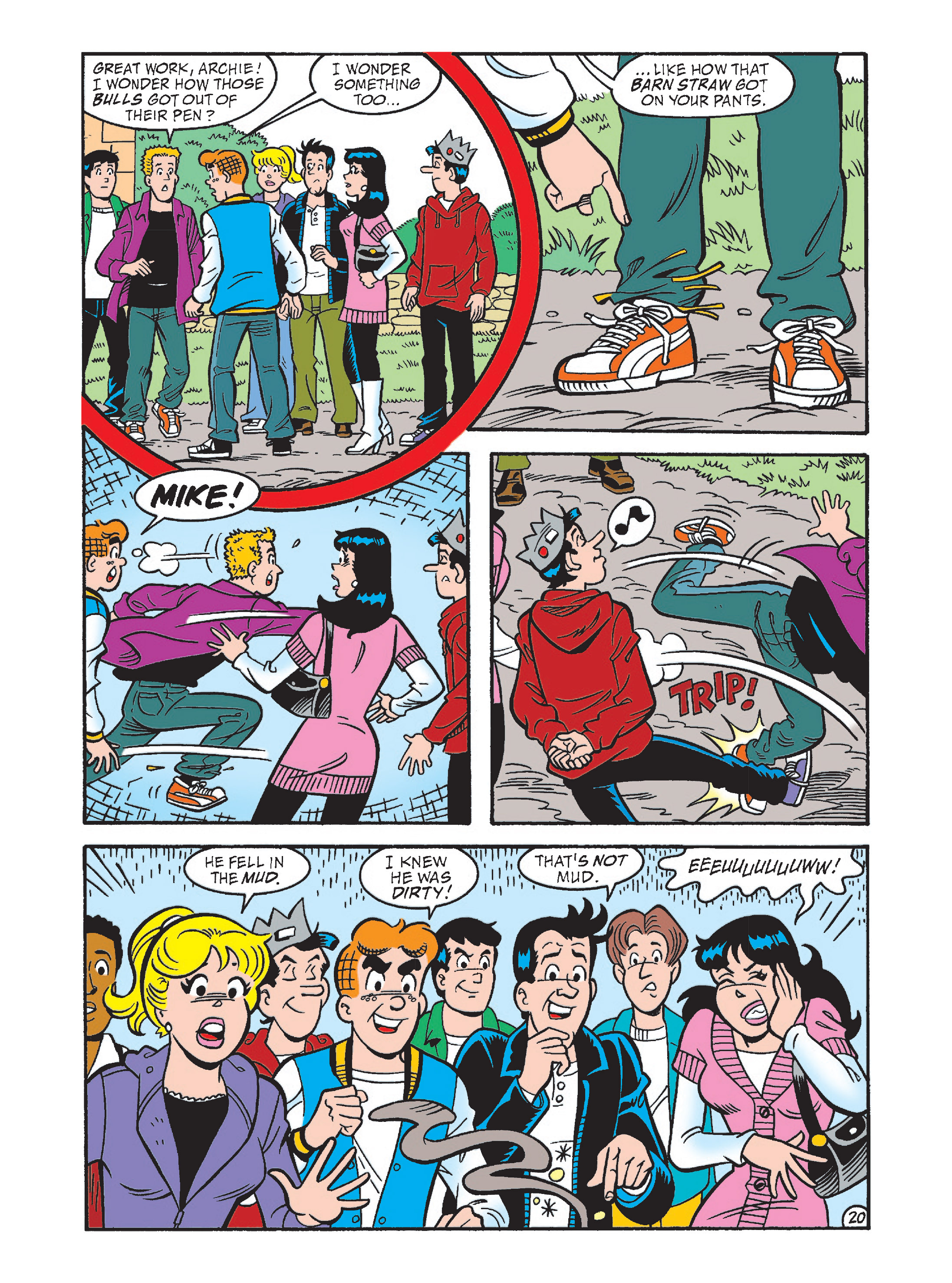 Read online Archie's Funhouse Double Digest comic -  Issue #2 - 55