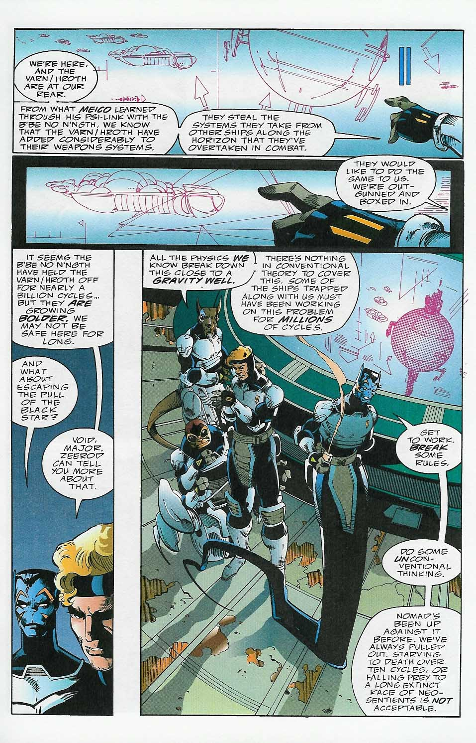 Alien Legion: On the Edge issue 2 - Page 6