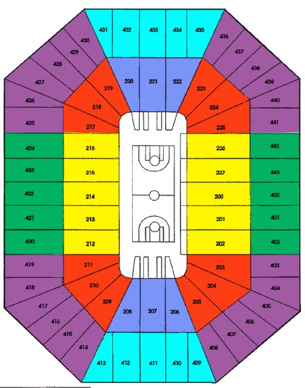 Bradley Center Seating Chart