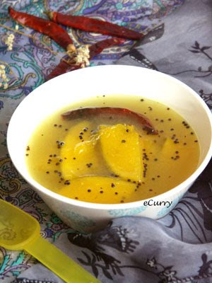 Aamer Ombol - Chilled Green Mango Soup or Cooler