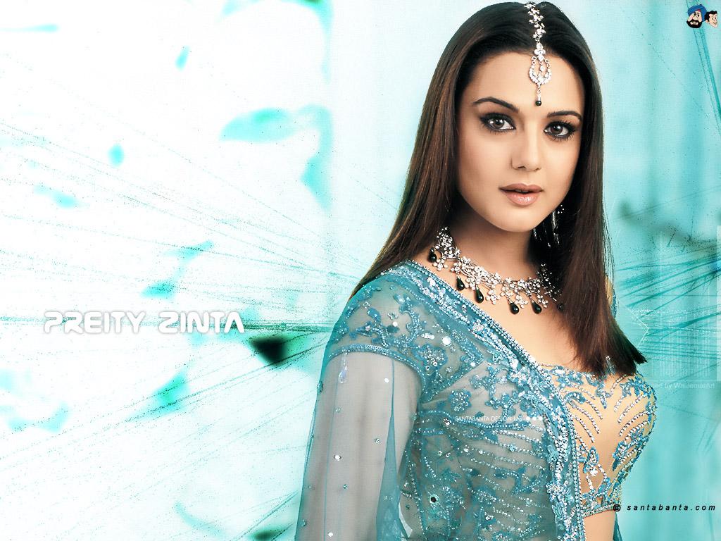 Bollywood Wallpaper Hot Preity Zinta-8266