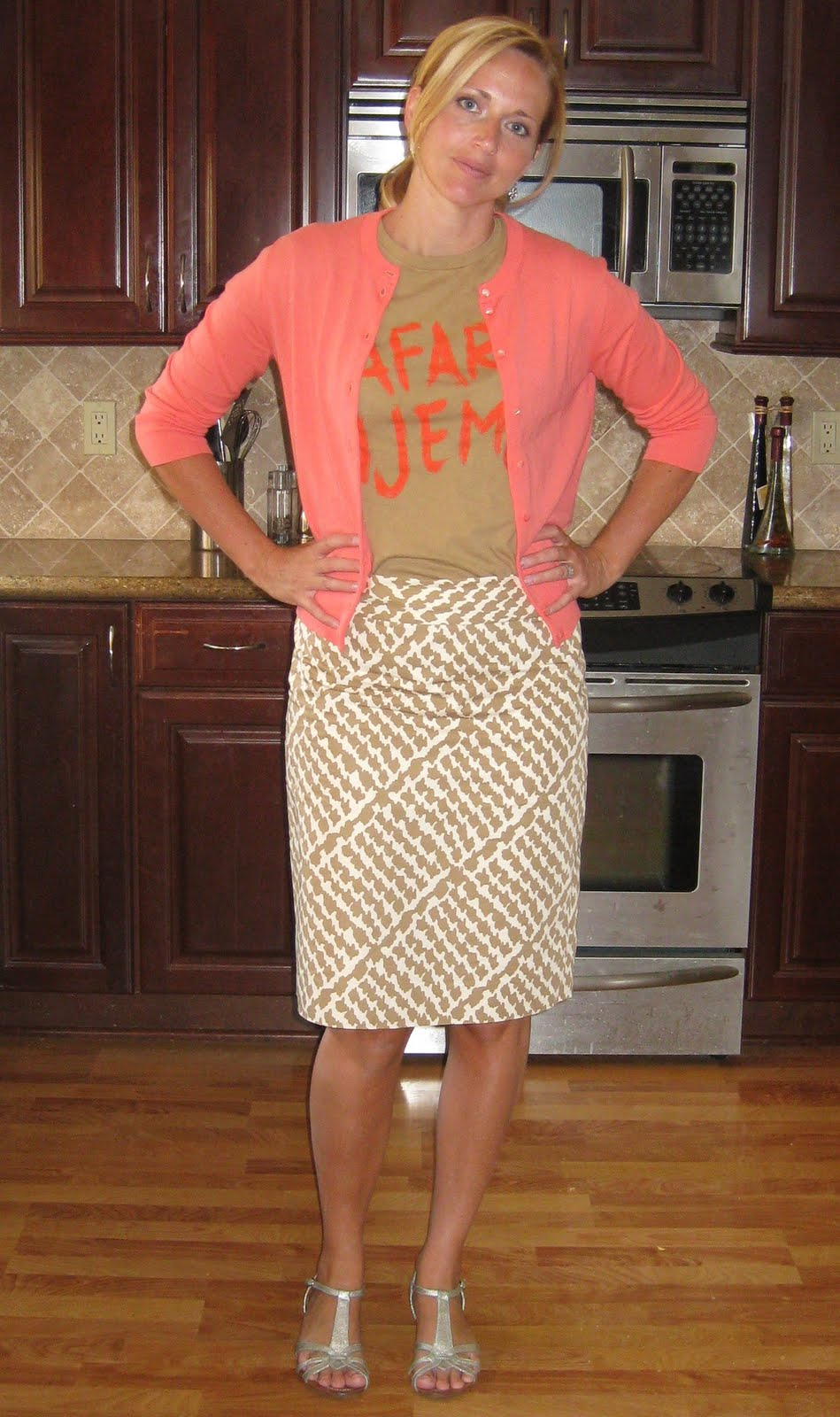 Uncategorized Modestly Styled modestly styled me one of those funk things coral jackie cardigan j crew