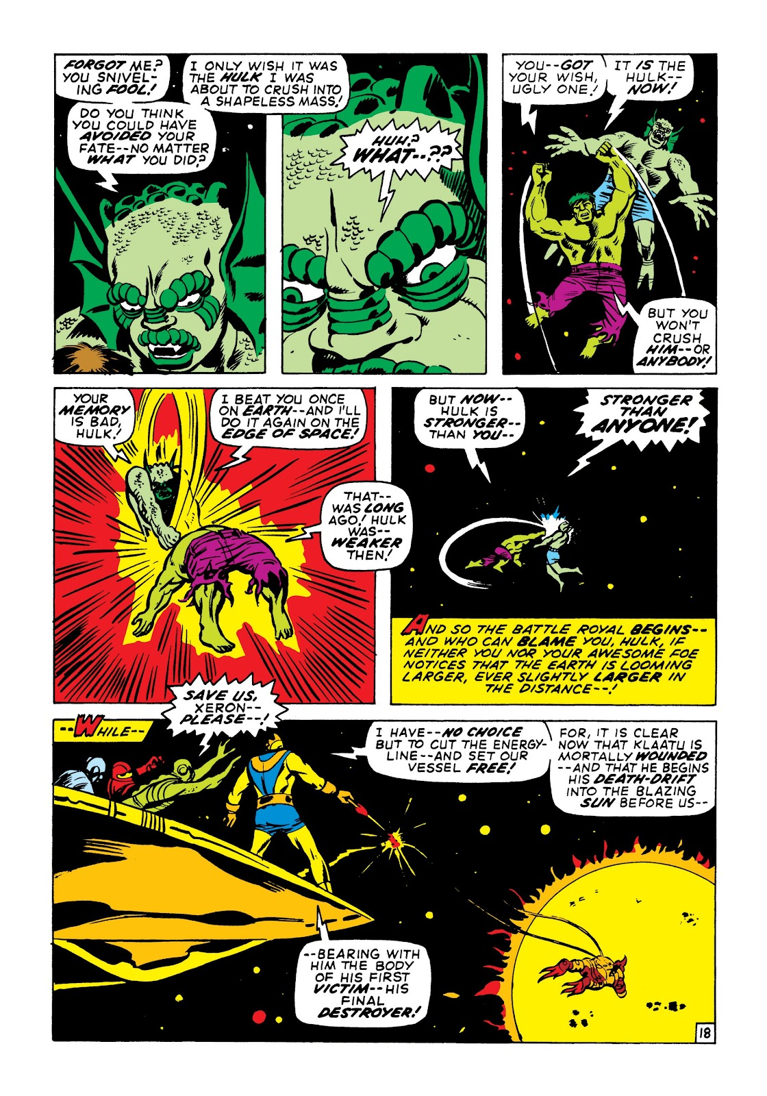 Read online Marvel Masterworks: The Incredible Hulk comic -  Issue # TPB 7 (Part 1) - 64