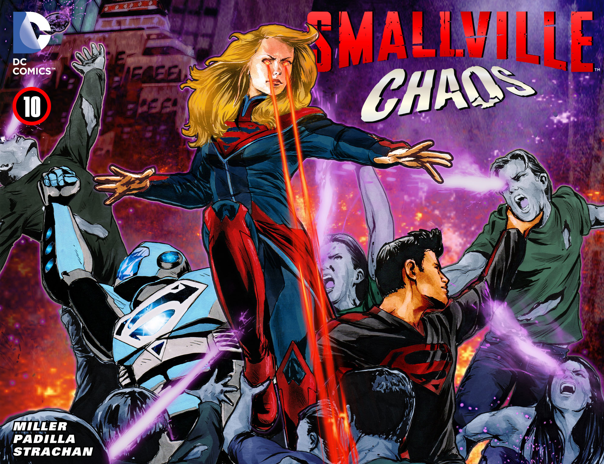 Read online Smallville: Chaos [II] comic -  Issue #10 - 1