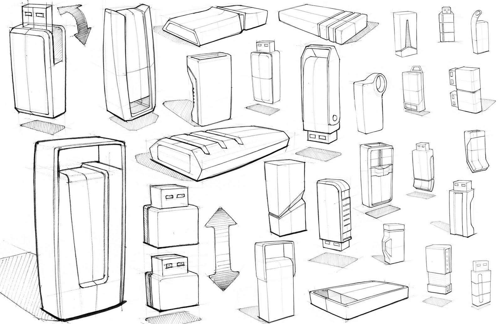 Ben Bailey: USB Sketches