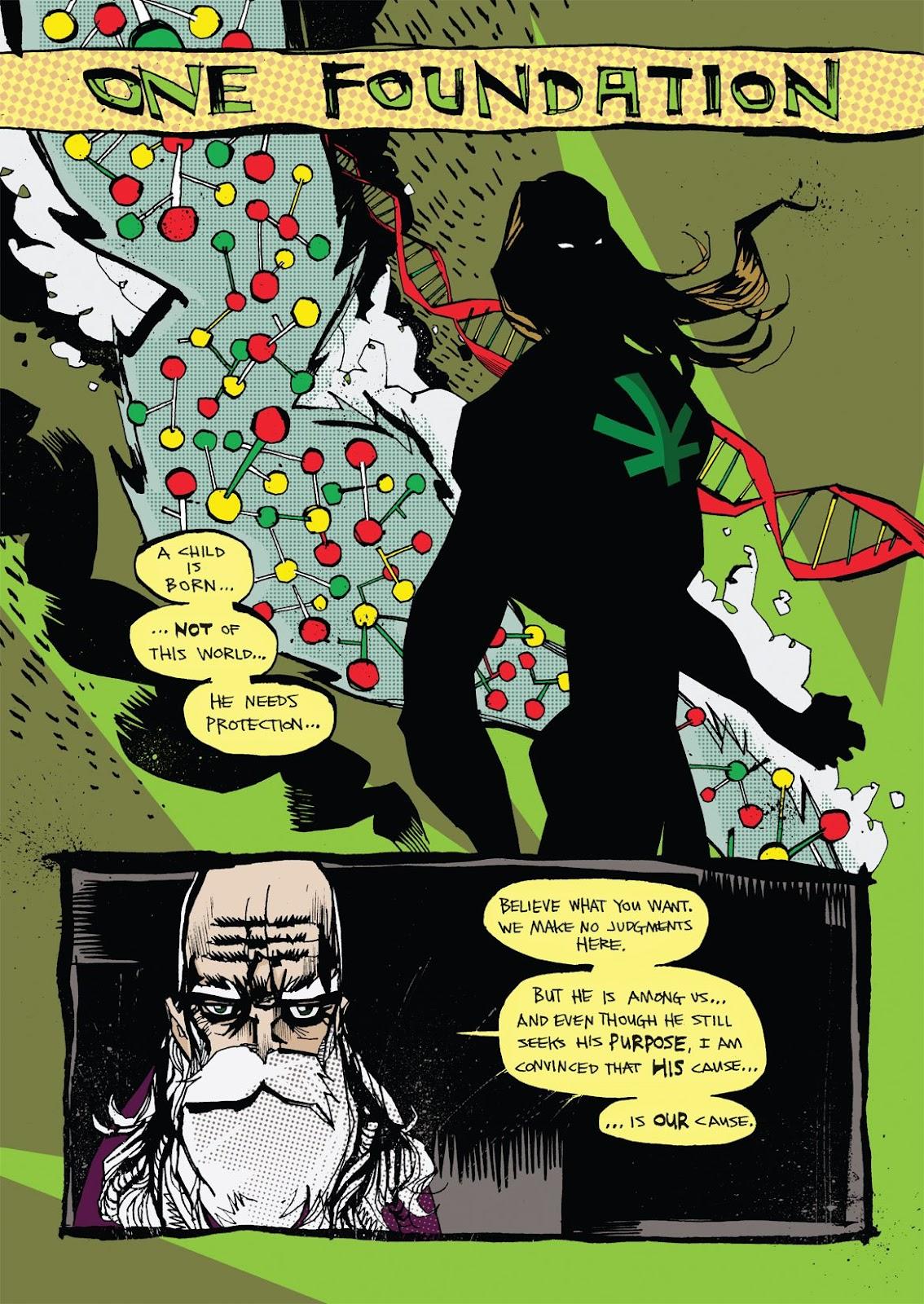Read online Marijuanaman comic -  Issue # Full - 4