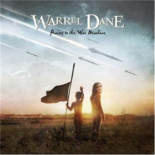 "Couverture de l'album intitulé ""Praises To The War Machine"" par Warrel Dane, un style Heavy Metal"