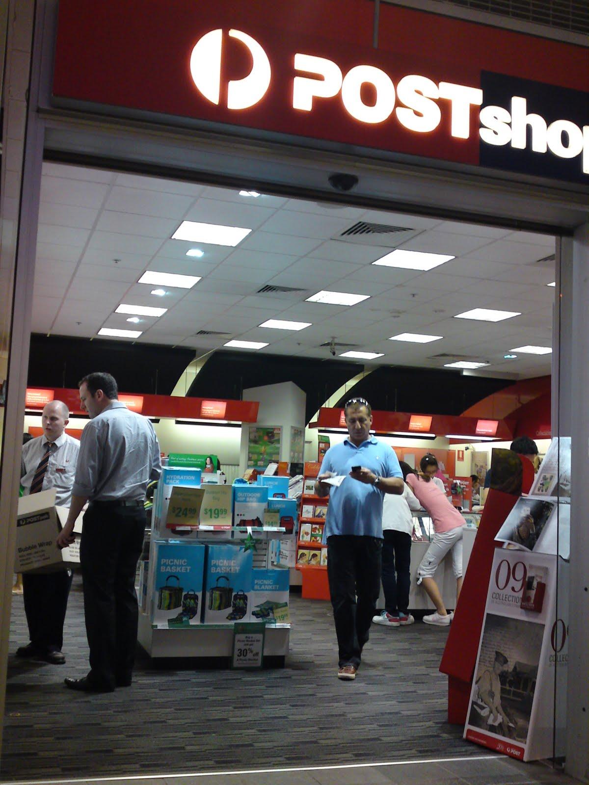 The SHOPPOLOGIST: Post Shop sales no picnic