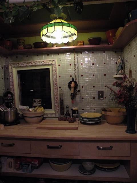 Vintage Tiled Kitchen