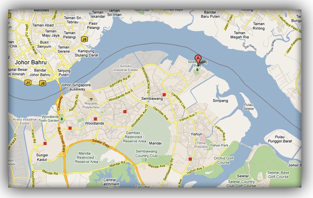 Singapore Naval Base Map – HD Wallpapers