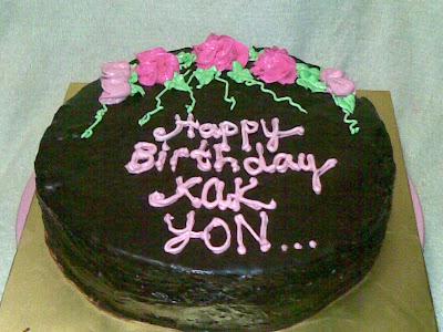 Groovy Cakes Happy Birthday Kak Yon