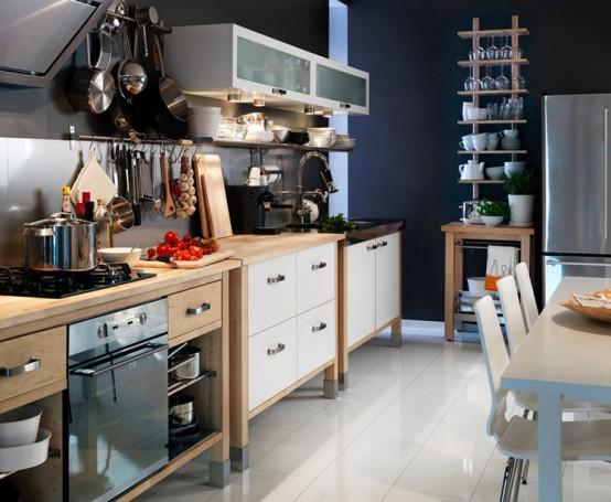 Ikea Small Kitchen Design: Nukilan Ilham: KITCHEN CABINET DESIGN