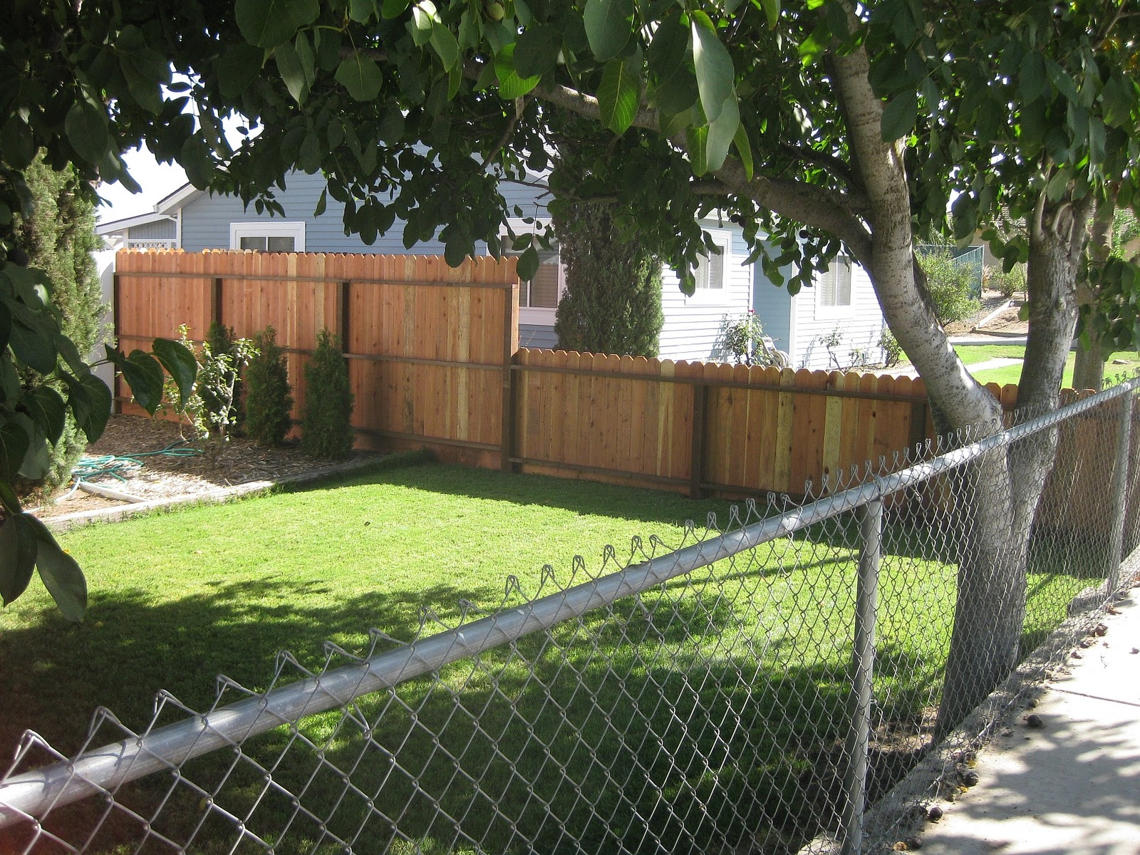Country Living in the City of Manteca: Picture Perfect Fence
