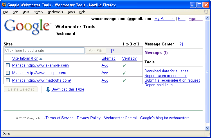 official google webmaster central blog message center let us  official google webmaster central blog message center let us communicate you about your site