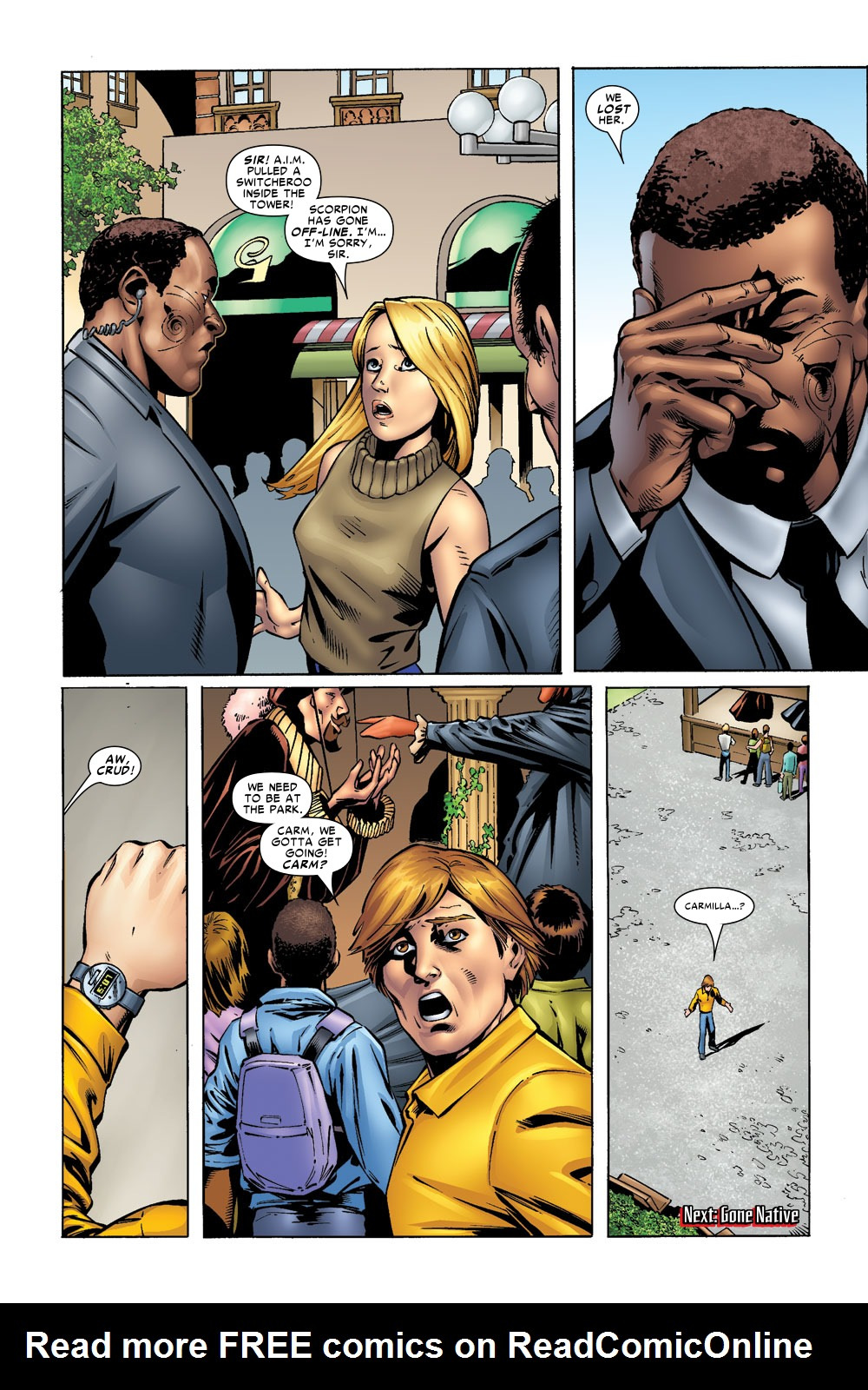 Read online Amazing Fantasy (2004) comic -  Issue #9 - 23
