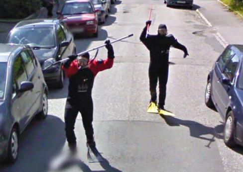 Cose Strane In Google Street View
