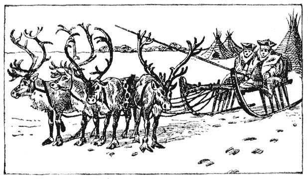 History for Children: FREE FRIDAY — Lapland Nomad Clip Art