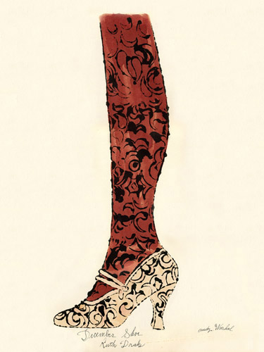 Andy Warhol Shoe Drawing New York Museum Turned Down