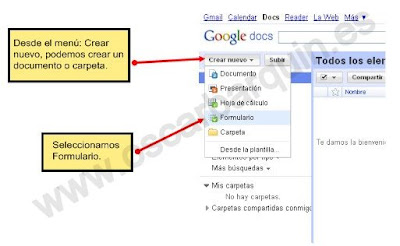 Crear Un Formulario En Google Docs Nuevas Herramientas Para La Escuela Del Presente
